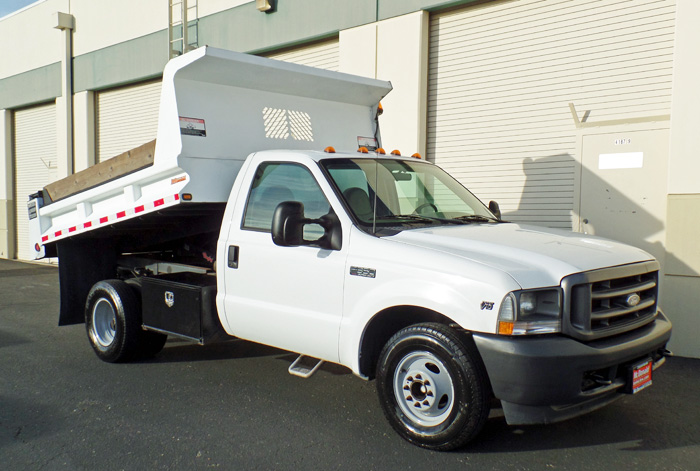 2002 Ford F-350 Dump w/ Only 46K