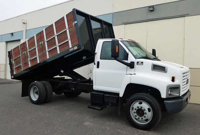 2008 Chevy C6500 Dump w/ Only 49K