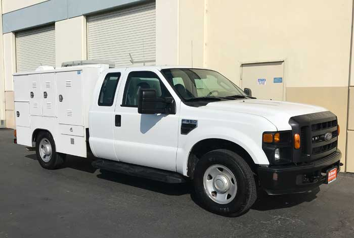 2009 Ford F-350 XL Animal Transport/Rescue w/ 104K & AC Throughout Compartments